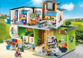 Playmobil 9453 Velká škola s příslušenstvím