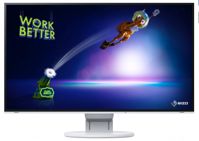 "EIZO 27"" EV2785-BK , IPS-LED, 3840 x 2160 monitor, bílá"