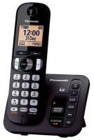 Panasonic KX-TGC220FXB, bezdrát. telefon, černý