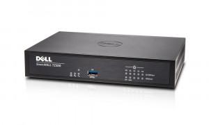 Dell SonicWALL TZ300 - Bezpečnostní zařízení - s roční služba TotalSecure - 5 porty - 10Mb LAN, 100 (TD3421058)