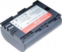 Baterie T6 power Canon LP-E6, 1620mAh, šedá (DCCA0017)