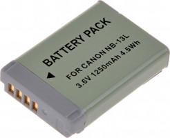 Baterie T6 power Canon NB-13L, 1250mAh, šedá (DCCA0024)
