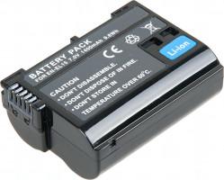 Baterie T6 power Nikon EN-EL15, 1400mAh, černá (DCNI0016)