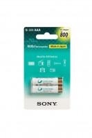 SONY NH-AAAB2KN - NiMH nabíjecí baterie AAA / 800 mAh / 2 ks v blistru