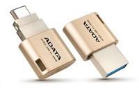 ADATA OTG tyc UC350 zlata 16GB USB-C na USB 3.0