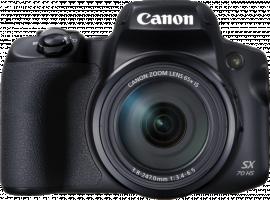 Canon PowerShot SX70 HS, digitální fotoaparát, černá