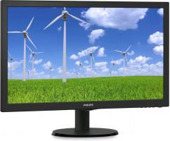 """Philips 23,6"""" 1920 x 1080 px, LCD monitor, černá"""