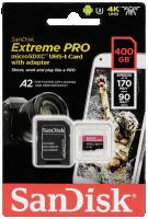 SanDisk Extreme Pro microSDXC 400GB 170MB/s + ada.