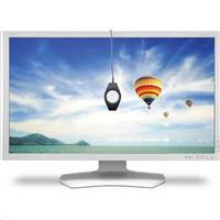 "NEC MT 30"" LCD MuSy PA302W-SV2 Black GB-R LED AH-IPS, 2560x1600/60Hz, 7ms, 1000:1, 340cd, DVI+HDMI+mDP+DP, USB, 108%"