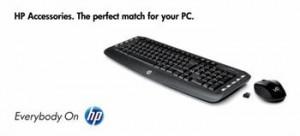 HP Wireless Keyboard + Mouse(Garfield) - Czech (LV290AA#AKB)