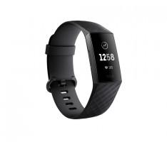 Fitbit Charge 3, černá, náramek