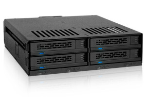"Backplane IcyDock 4x6,3cm SATAI-III/SAS in 1x5,25"" HDD/SSD"
