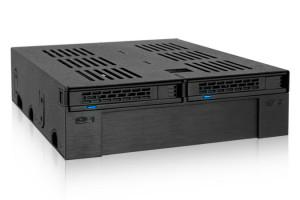 """Backplane IcyDock 2x6,3/1x8,9cm SATAI-III in 1x5,25"""" HDD/SSD"""