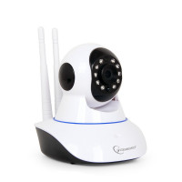 Gembird HD WiFi kamera rotující, bílá - ICAM-WRHD-01