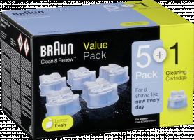 Braun CCR 5+1 nahradni cistici kazety