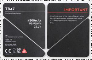 DJI Inspire 1 Battery Insulation Sticker (4500 mAh) P50 - 11546