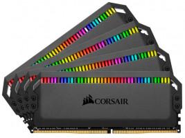 Corsair Dominator Platinum RGB, 32 GB, 4 x 8 GB, DDR4