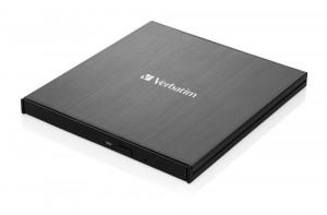 Verbatim Slimline Ultra HD 4K, černá