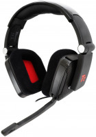 "Tt eSPORTS Headset Shock ""Black"" / 40mm Ear-Cup/ 2*3,5mm"