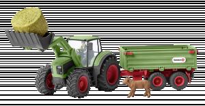 Schleich Traktor s přívěsem
