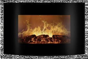 Bomann EK 6021 CB black Electric Fireplace
