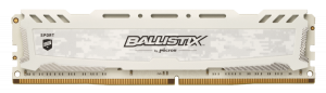Ballistix Sport LT 8GB DDR4 3000 DIMM 288pin white SR CL15