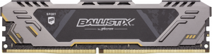 Ballistix Sport AT DDR4 8GB 3200 MT/s CL16 stříbrná 288pin