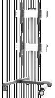 Reflecta Video Wall TV stojan 55D
