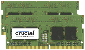 Crucial 32GB DDR4 2400 MT/s Kit 16GBx2 SODIMM 260pin for Mac
