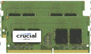 Crucial 32GB DDR4 2400 MT/s Kit 16GBx2 SODIMM 260pin for Mac