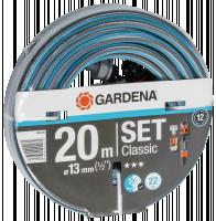 Gardena Classic Hose 13mm 1/2 20 m with příslušenství