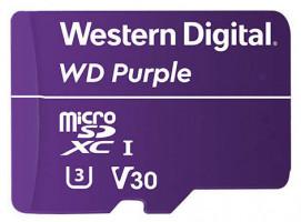 WD FLASH WDD128G1P0A fialová microSD XC 128GB SD Class 10, UHS SpeedClass 1, SDA 5.0 / 100MB/s read, 60MB/s write / 128