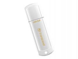 Transcend JetFlash 730 - Jednotka USB flash - 128 GB - USB 3.0 - bílá (TD3374276)
