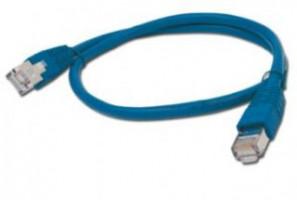 Gembird Patch kabel RJ45, cat. 5e, FTP, 1m, modrý