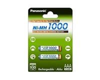 PANASONIC High capacity - Nabíjecí baterie AAA 930mAh 1,2V balení - 2ks