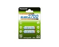 PANASONIC High capacity - Nabíjecí baterie AA 2500mAh 1,2V balení - 2ks (52334060)