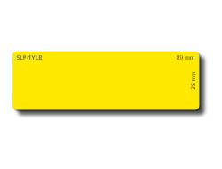 Seiko SLP-1YLB Papírové adresní štítky žluté