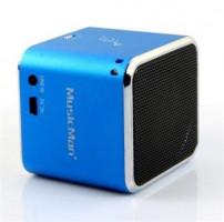 Technaxx Mini MusicMan, baterie 600 mAh, modrý (3530)