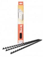PEACH/OEM Vazací hřbet plastový A4 průměr 14mm bilý 100ks (lamre21dr14bl)
