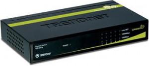 TRENDnet TEG-S50g 5-Port Gigabit GREENnet Switch (úspora až 70%) - GREEN