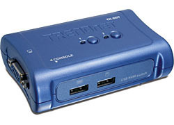 TRENDnet 2 PORT USB KVM SWITCH sada (TK-207K)