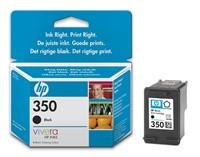 HP Ink Cart černá barva No. 350 pro OJ 5780, 5785, 4.5 ml, CB335EE