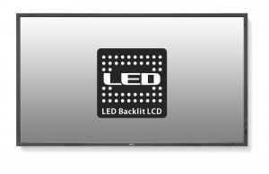 "46"" LED NEC P463 DST - FHD,SPVA,700cd,rep,24/7,tou"