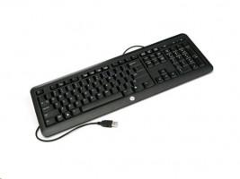 HP USB Keyboard - Německá