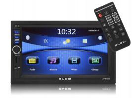 "BLOW AVH-9880 2DIN 7"" GPS autorádio"