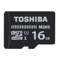 Toshiba MicroSDXC M203 R100 16GB