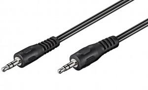 PremiumCord - Audio kabel - mini-phone stereo 3,5 mm (M) - mini-phone stereo 3,5 mm (M) - 3 m