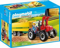 Playmobil Traktor s přívěsem | 70131