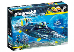 Playmobil Team S.H.A.R.K. Drill Destroyer | 70005
