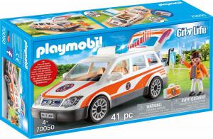 Playmobil Rychlá lěkařská pomoc, auto se světlem a zvukem | 70050
